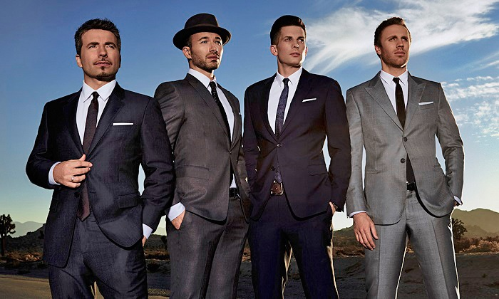 The Tenors - Northern Alberta Jubilee Auditorium: The Tenors: Under One Sky Tour at Northern Alberta Jubilee Auditorium on Friday, September 25 (Up to 36% Off)
