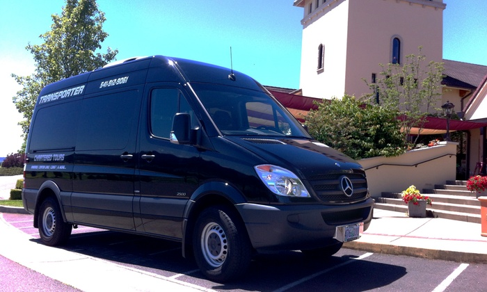 Tour Transporter - Springfield: Six- to Eight-Hour Guided Bus Tour of Oregon for One, Two, or Four from Tour Transporter (Up to 53% Off)