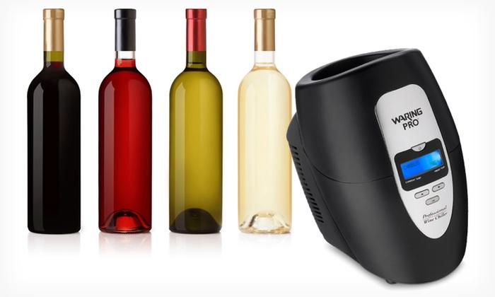 Waring pro single bottle wine chiller