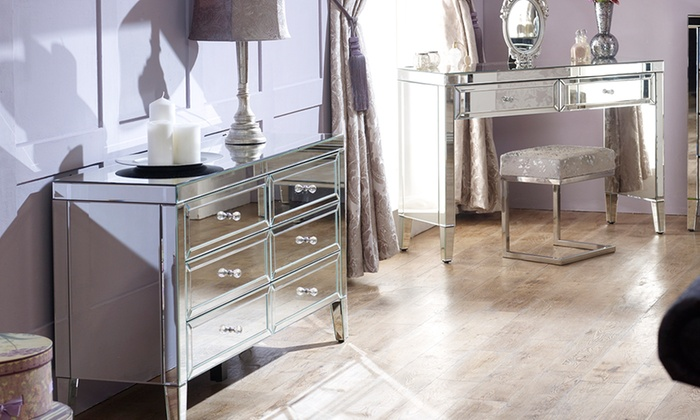 Fully Assembled Mirror Furniture Groupon Goods