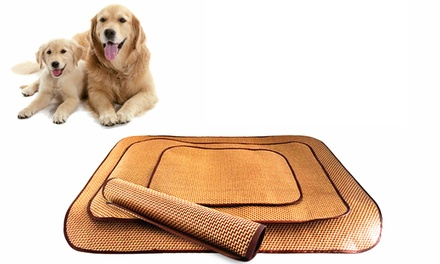 Cool Bamboo Mat for Pets