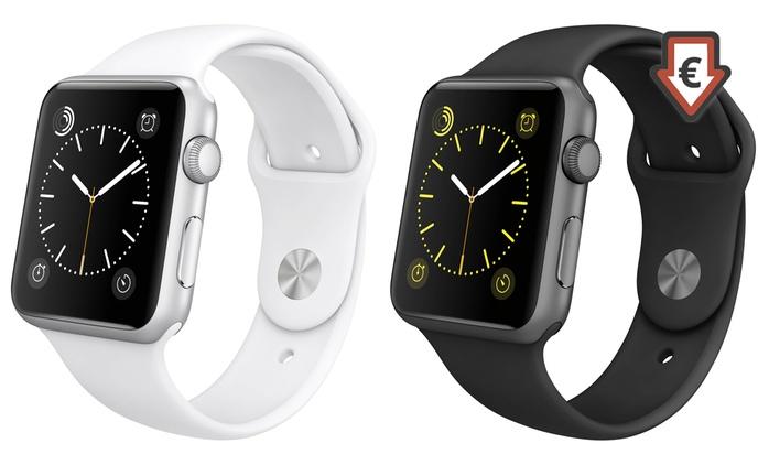 Apple Watch Sport 42 mm reconditionnée, garantie 1 an, livraison offerte
