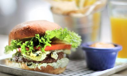 image for Burger with Chips for Two or Four at On the Pigs Back Eatery (Up to 24% Off)