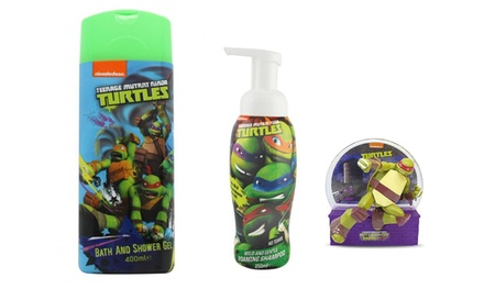 ThreePiece Teenage Mutant Ninja Turtles Bath Set for £9.98