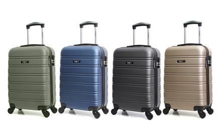 Valise cabine en ABS, coloris au choix