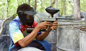 Warped Paintball Park: Paintball Commando Package for 1, 2, 5, or 10 with Gear and Paintballs at Warped Paintball Park (Up to 58% Off)