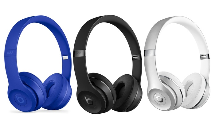 602345375ff Up To 41% Off on Beats by Dre Solo 3 Headphones | Groupon Goods