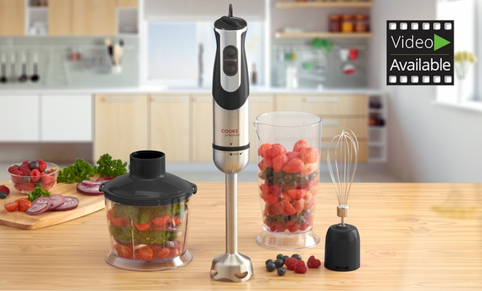 Cooks Professional Multi-functional 3-in-1 Hand Blender for €42.99 With Free Delivery (48% Off)