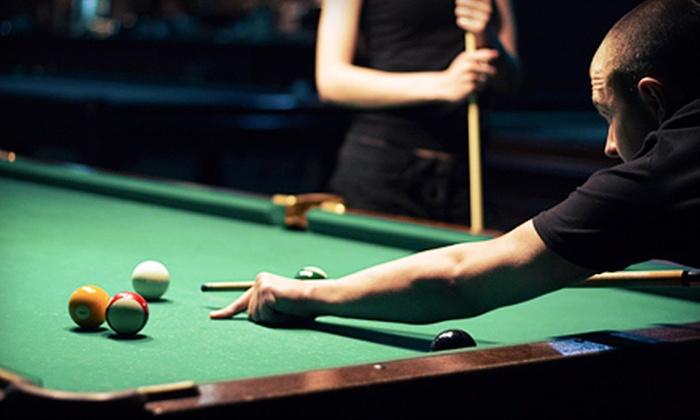 Jimmy's Pro Billiards - Columbia: $25 Worth of Billiards
