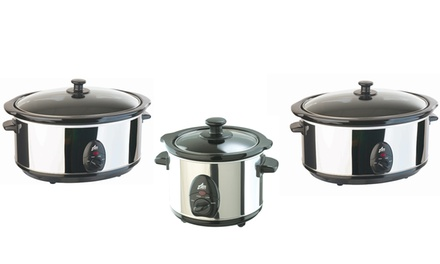 Slow Cookers Available in Three Sizes from £16.99