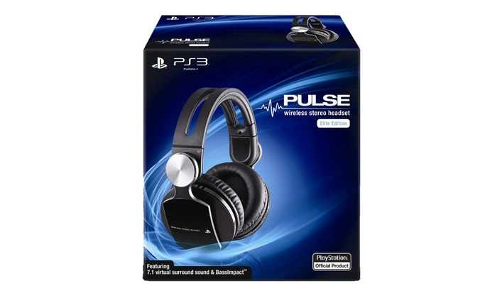 Buy sony pulse wireless stereo headset elite edition online at low.