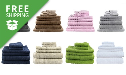 Free Shipping: Egyptian Cotton Bath Towel Set: SixPiece $29 or EightPiece $39