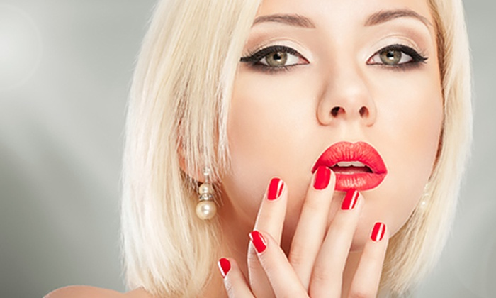 Heavenly Pink - Wolverhampton: Shellac Nails For Hands or Feet (£9) Plus Facial (from £14) at Heavenly Pink (Up to 61% Off)