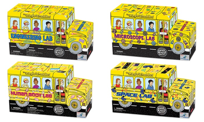Up To 30% Off on The Magic School Bus Lab Series | Groupon Goods