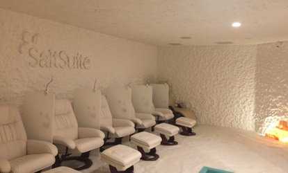 image for One or Three <strong>Salt</strong> Therapy Sessions at The <strong>Salt</strong> Suite Boca Raton (Up to 53% Off)