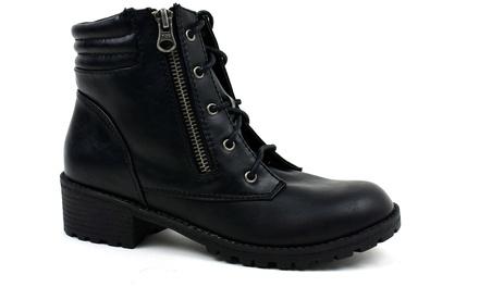 Girls' Biker Boots