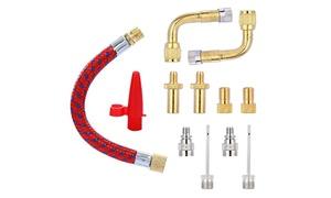 Kit d'adaptateurs de valve pour vélos