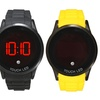 Touchscreen LED Watch with Silicone Band