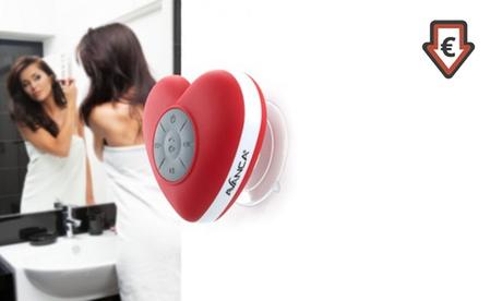 1 o 2 altavoces Bluetooth impermeables Avanca en forma de corazón