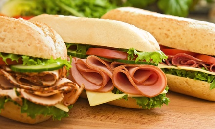 Two or Four Large Cold-Cut Sandwiches with Chips and Drinks at Izi Sandwich Shop & Deli (40% Off)
