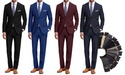 Braveman Mens Classic Fit 2-Piece Suit