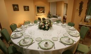 Mesón El Sol Restaurante : Menú para 2 o 4 con aperitivo, entrante, principal, postre y bebida desde 29,95 € en Mesón El Sol Restaurante