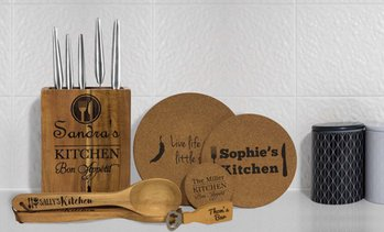 Personalised Kitchen Accessories
