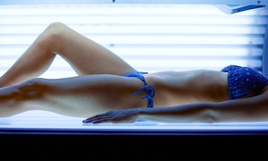 Envy Hair Salon: 2 or 4 Tanning Bed Sessions, or One Month of Unlimited Tanning Bed Sessions at Envy Hair Salon (Up to64% Off)