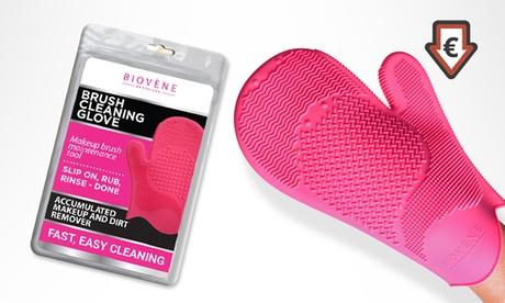 Guanto Biovène per pulire i pennelli da make-up
