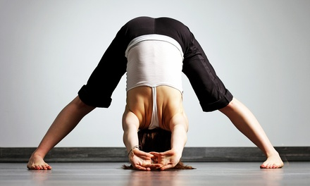 10 Yoga Classes or One Month of Unlimited Yoga at Urban Yoga Spa (70% Off)