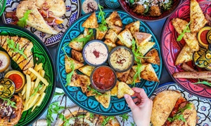Ben's Alibi: Moroccan Lunch for One ($16), Two ($29) or Four People ($58) at Ben's Alibi (Up to $91.60 Value)