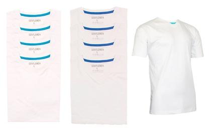 4er-Pack T-Shirts für Herren von GENTLEMEN (bis zu 61% sparen*)