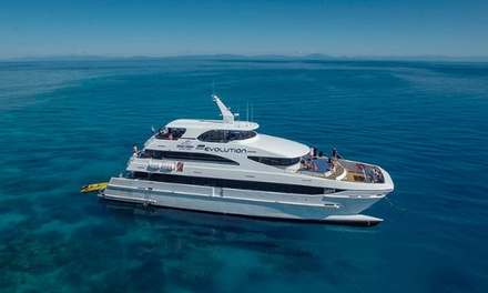 Cairns: for One Child or $189 for One Adult for a Cruise and Drive Package with Down Under Cruise and Dive