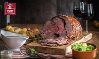 Four Meat Carvery with Unlimited Veg and a Drink for Up to Six at Toby Carvery, Nationwide