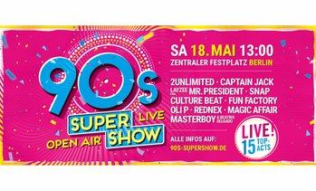 "ef1d0bb8340ba6 image placeholder Live-Konzert ""90s Super Show"""