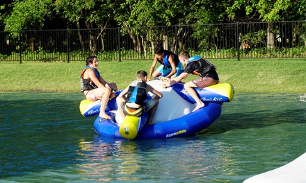 Two-Hour Aqua Park Admission for Two or Four at Hydrous Aqua Park (Up to 40% Off). Four Options Available.