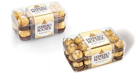 2 of 4 dozen van 16 of 30 Ferrero Rocher chocolaatjes