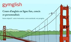 Cours d'anglais en ligne personnalisés
