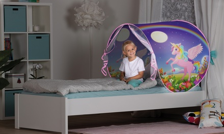 Tienda de cama para niños con luz nocturna John