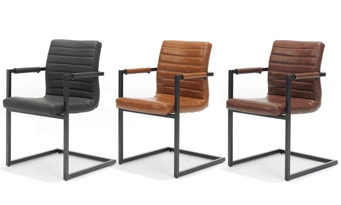 2 Chaises Design Industriel