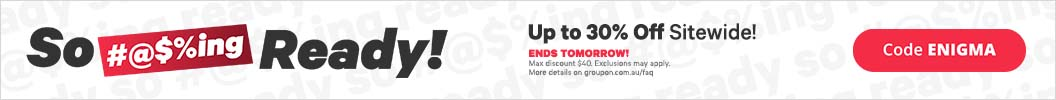 Use code ENIGMA and enjoy up to an extra 30% off Sitewide. Ends tomorrow. Some deals excluded.