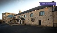Northumberland: 1 Night for 2 with Breakfast, Dinner, Wine and Leisure Access at BEST WESTERN Derwent Manor