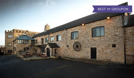 Northumberland: 1Night Stay for Two with Breakfast, Dinner, Wine and Leisure Access at BEST WESTERN Derwent Manor