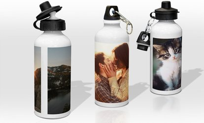 Up to Three Personalised Water Bottles from Printerpix (Up to 63% Off)