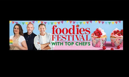 Foodies Festival, 26–28 May with Show Guide and Goody Bag at Syon Park