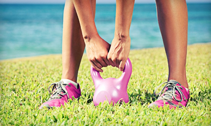 Renewal Body Bootcamp - Multiple Locations: One Month of Fitness Beach Boot-Camp Classes from Renewal Body Bootcamp (68% Off). Four Options Available.
