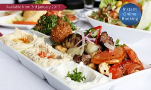 La Beirut: Traditional Lebanese Banquet for Two ($49) or Four People ($96) at La Beirut, Two Locations (Up to $202 Value)