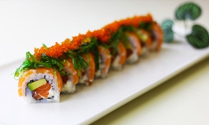 Sesiko: 50 o 100 pezzi di sushi take away da Sesiko (fino a 67% di sconto)