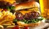 Burger oder Schnitzel mit Dessert