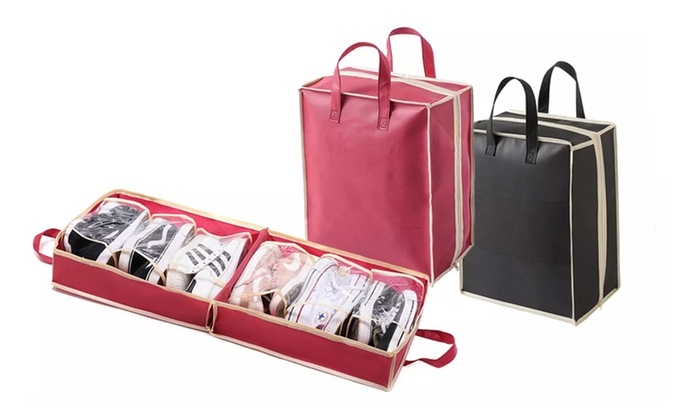 One or Two Travel Shoe Carriers